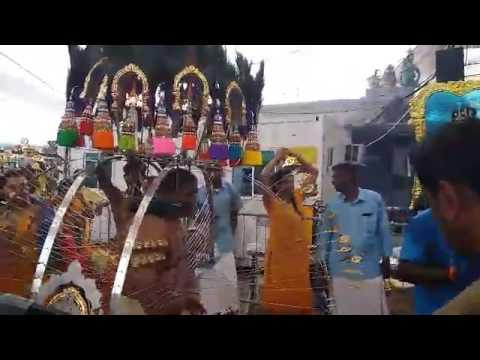 Hindu devotees celebrating Thaipusam in Singapore