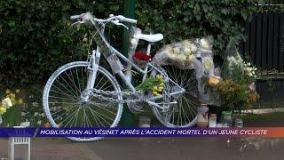 Yvelines | Mobilisation au Vésinet après l'accident mortel d'un jeune cycliste