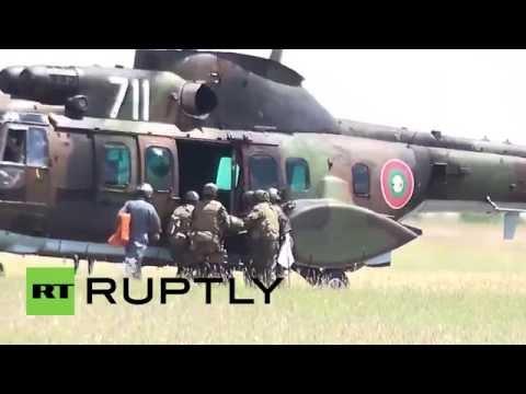 Bulgaria: US-Bulgarian joint para drills underway near Plovdiv