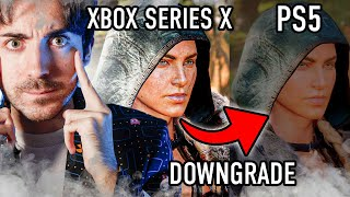 Ubisoft LA CAGA: DOWNGRADE en PlayStation 5 🤔 Xbox Series X vs PS5! Assasin's Creed Valhalla.