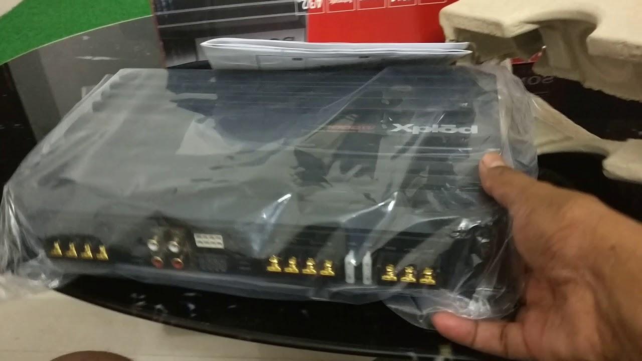 6 Volt Power Amplifier 4 Ch 100 Watts/Ch by Wayne Johnson