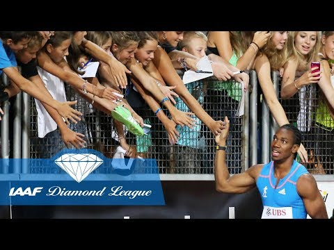 Yohan Blake runs fastest ever 100m in the Diamond League with 9.69 in Lausanne in 2012 - Flashback
