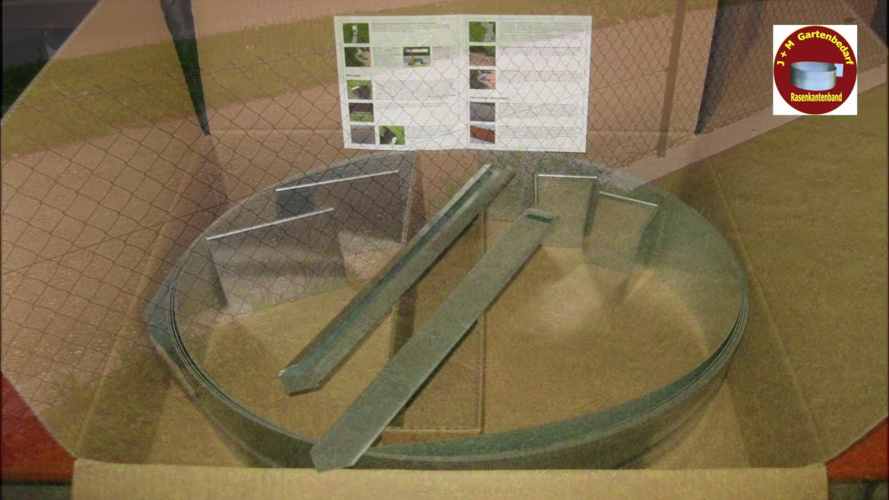 Vorstellung unserer rasenkanten aus metall youtube for Buromobel aus metall