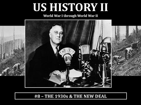 USH2 8 1930S NEW DEAL