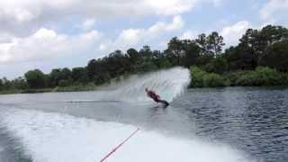 Slalom Water Ski - Transition For Better Turns