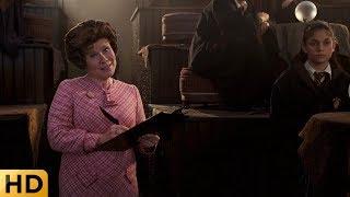 Долорес Амбридж наводит свои порядки в Хогвартсе. Гарри Поттер и Орден Феникса.