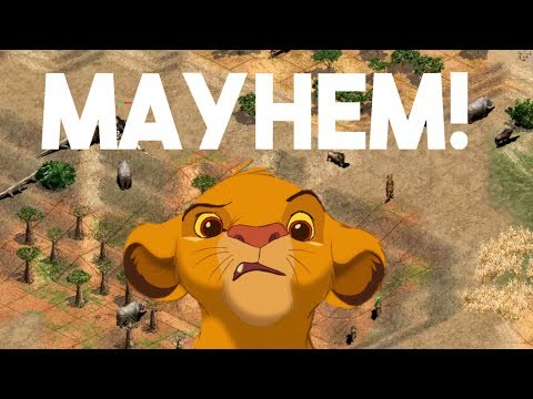 AoE2 - Wildlife Mayhem [King Of The Hill]