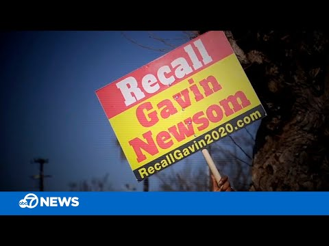 California Gov. Newsom recall effort: Who is behind it, who signed it and why