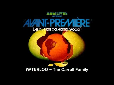 LP Avant-Premiere :: The Carroll Family - Waterloo :: 1974