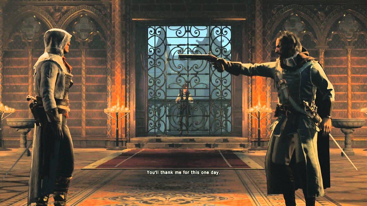 Assassins Creed Unity Pierre Bellec Death Boss Fight