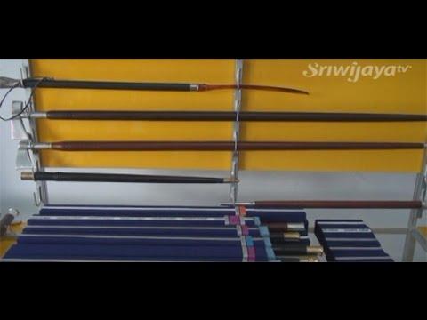 SMKN Sumsel Membuat Tongkat Komando Dari Sisa Kayu Furniture