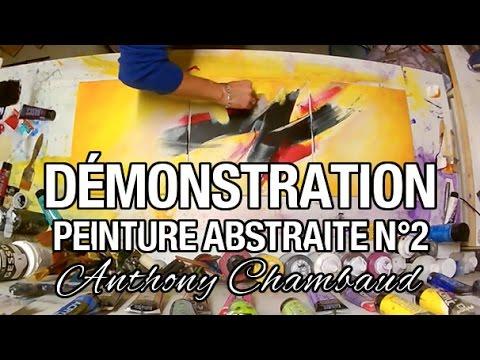 Youtube Réaliser Une Peinture Abstraite N 2 Chambaud