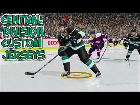 REMAKING THE CENTRAL DIVISION JERSEYS!!!
