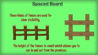 The Types Of Fencing