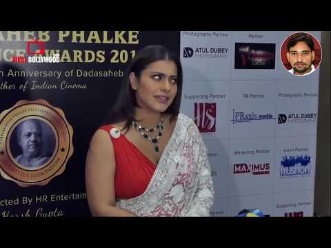 Kajol Devgan Sexiest Avatar At Dadasaheb Phalke Excellence Awards 2019 || kajol hot look red carpet