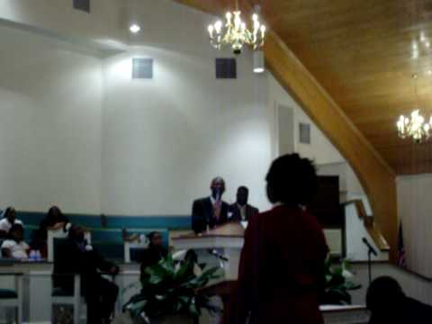 Bro. Brandon Colquitt sings @ Morning Star Baptist Church Youth Day Program