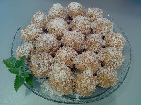 Кокосовые шарики (десерт) Coconut marbles (dessert) без регистрации и смс