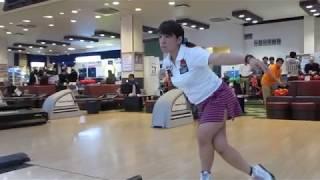 堀内 綾プロの前向き投球動画.