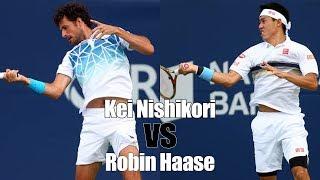 【テニス】【最新】錦織圭vsロビン・ハーセ!ロジャーズカップ2018!【神業】Kei Nishikori vs Robin Haase Rogers Cup 2018 1R