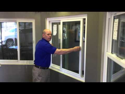 How to operate a Double Slider Window