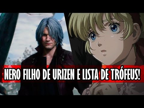 Patty, Nova espada e Nero filho de Urizen? | Devil May Cry 5 thumbnail