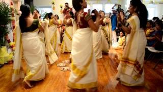 2012 Onam Thiruvathira - SNA Philadelphia