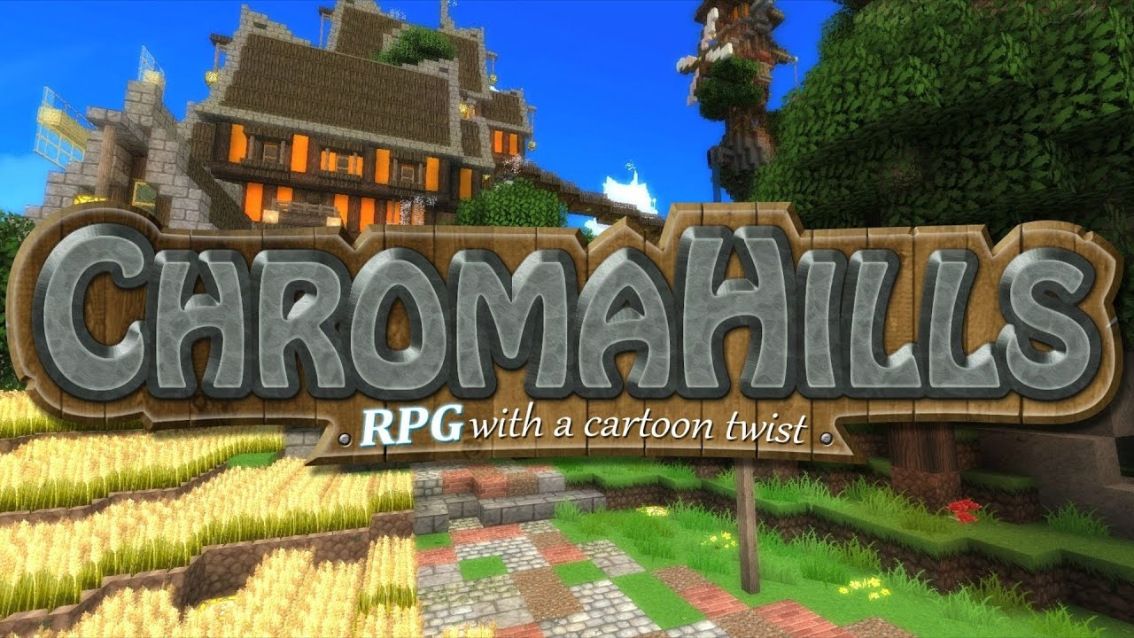 Chroma Hills: Texture Pack FULL Review - Minecraft - YouTube