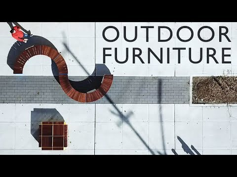 Outdoor Furniture | Made from Decking Tiles