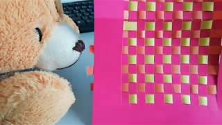 як зробити килимок з паперу своїми руками