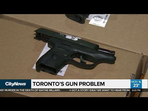 Police chief weighs in on Toronto's gun problem