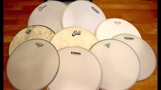 16 Snare Heads Comparison Part 1: Sticks by Kai Jokiaho