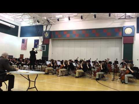 Avon Middle School North Chamber Orchestra IHSMAA Contest #2