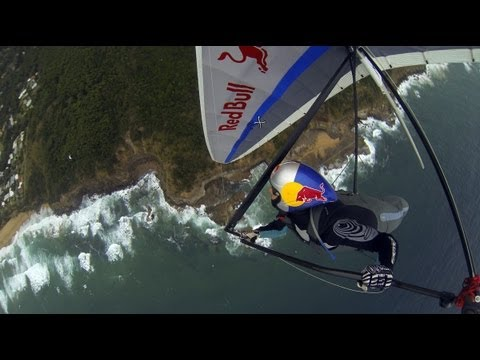 Flying Litespeed Rx on the coast of Stanwell park