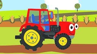 Download Песенки для детей - СБОРНИК про машинки: Бип-Бип , Трактор, Грузовик и другие песни для малышей Mp3 and Videos