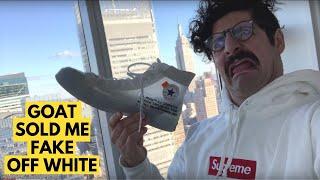 GOAT Sold Me Fake Off Whites
