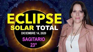 ECLIPSE SOLAR TOTAL en SAGITARIO Dic 14, 2020 y Cómo Afectará a Cada Signo