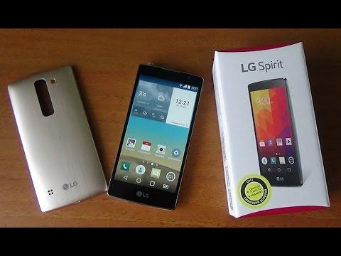 LG Spirit H422 : Обзор и отзыв владельца