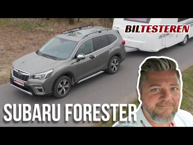 SUV til dig der ikke gider at have det samme som naboen - Subaru Forester e-Boxer (test)
