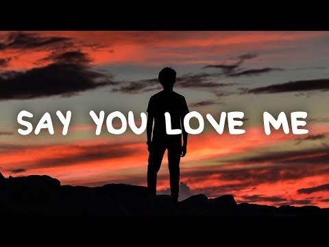 Mark Klaver - Say You Love Me (Lyrics)