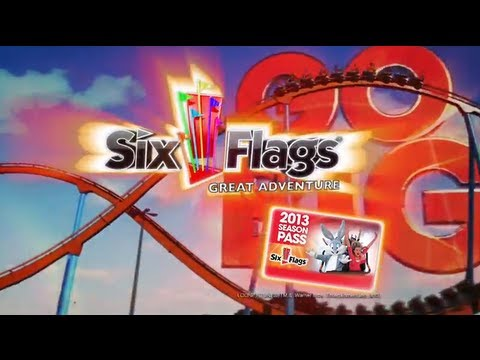 Six Flags Great Adventure 2013 Spring Break Commercial