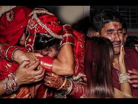 Emotional Bidai Video  Bimala weds Ashok  2018
