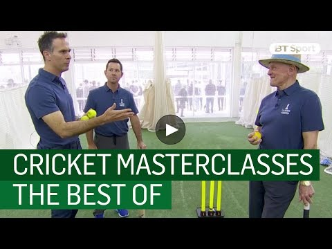 2017/18 Ashes | The Best of BT Sport's Cricket Masterclasses