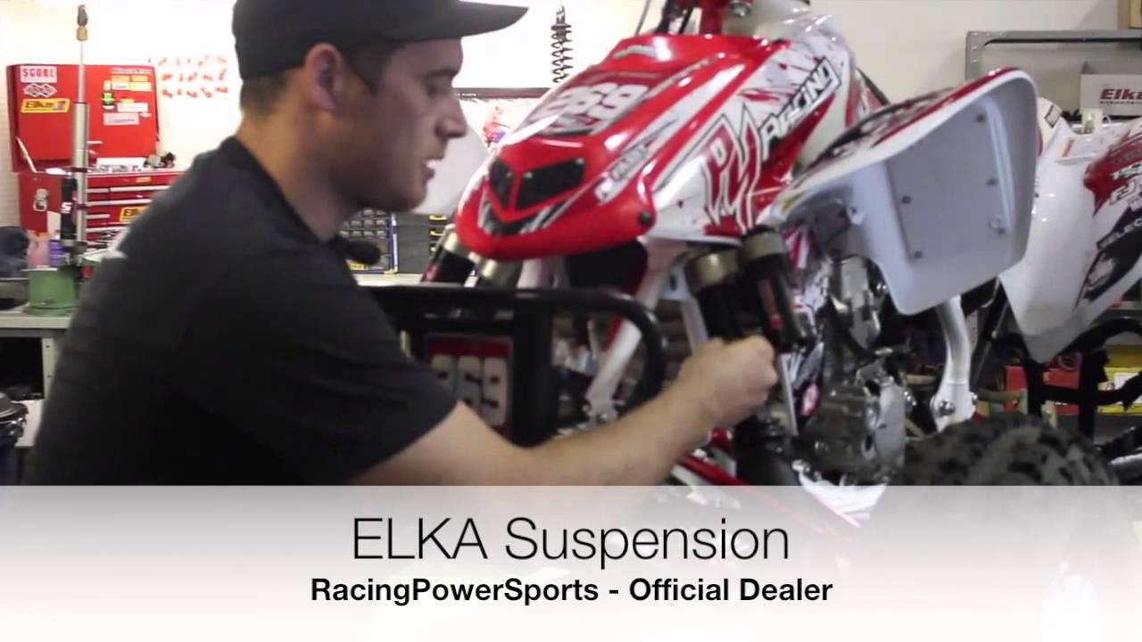 ELKA Suspension ATV Shock Ride Height Setup