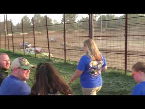 072316 Fayette County Speedway Modified Heat 1