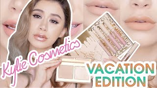 KYLIE COSMETICS FIRST IMPRESSION VACATION EDITION REVIEW