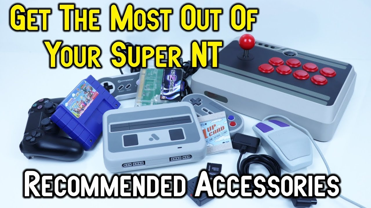 Analogue Super NT - Recommended Accessories - Get The Most Out Of Your HD  SNES