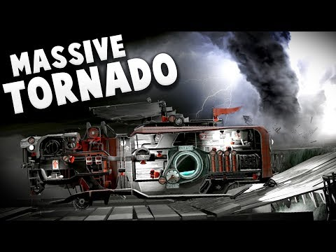 FAR: Lone Sails - Massive Tornado! Vessel Upgrades & Radio Contact? - FAR Lone Sails Gameplay