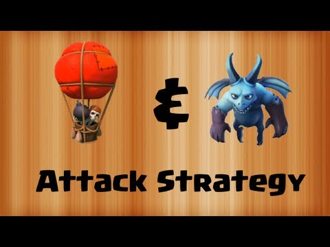 Clash of Clans - Balloons & Minions Attack Strategy! [Balloonion]