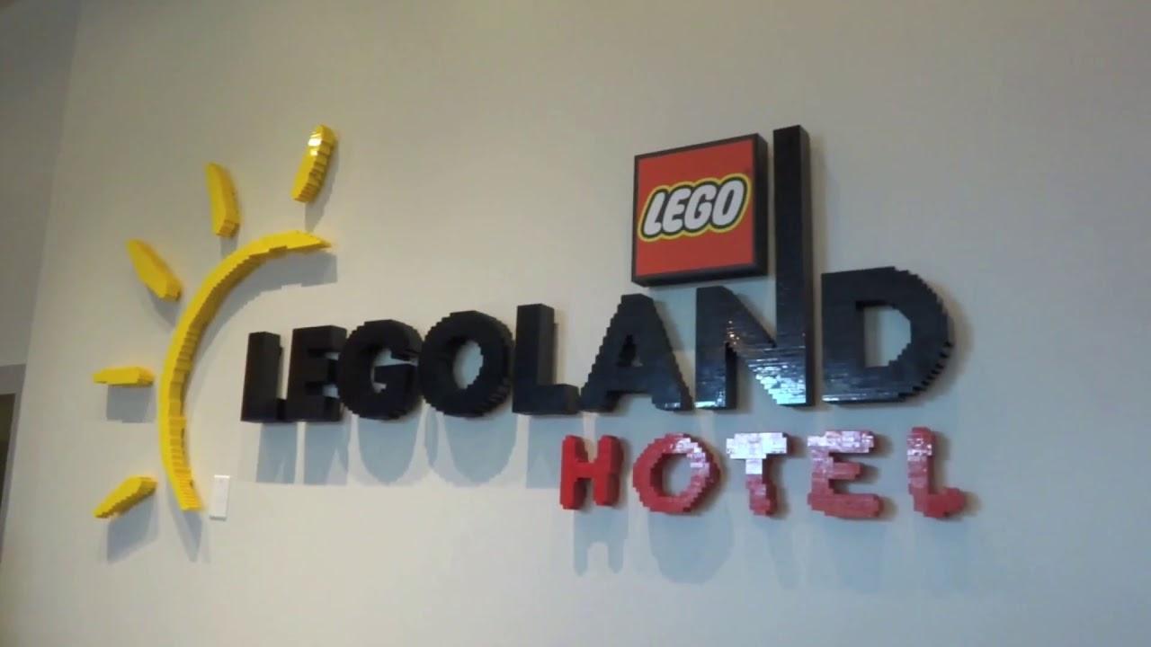 exploring the legoland hotel winter haven fl youtube