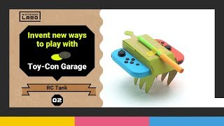Invent new ways to play with Toy-Con Garage – Episode 2